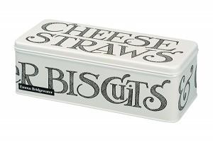 Long Deep Rectangular Tin Black Toast Storage Tins