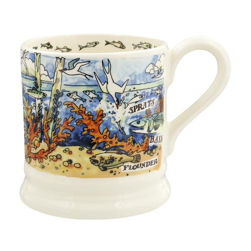 ½ pt Mug River Shore Salt water