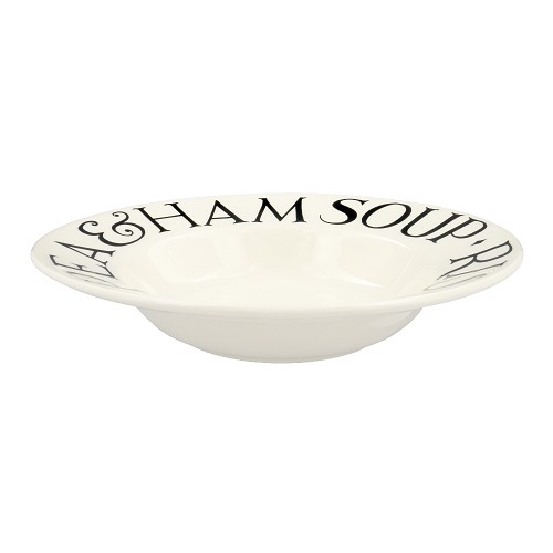 Soup Plate Black Toast