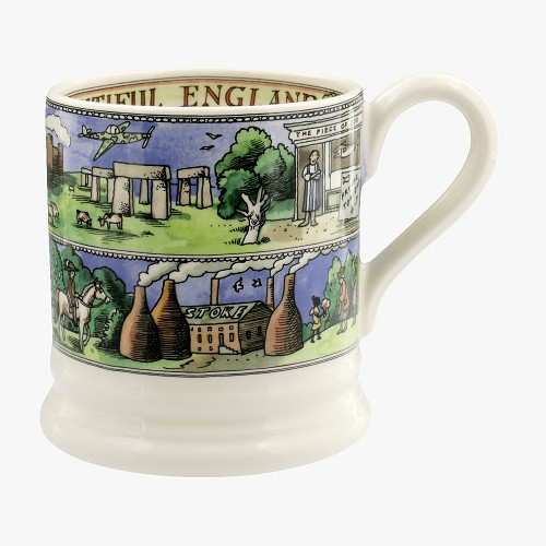 ½ pt Mug Beautiful England