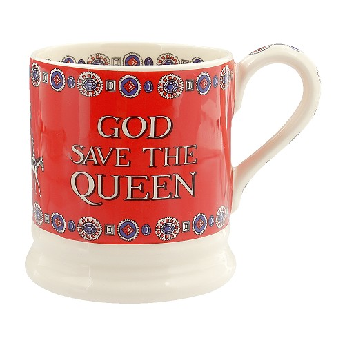 ½ pt Mug God Save The Queen