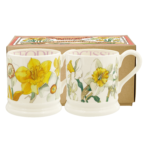 Boxed ½ Pt. Mugs Flowers 2020
