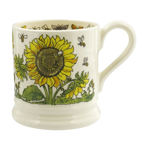 ½ pt Mug Sunflowers
