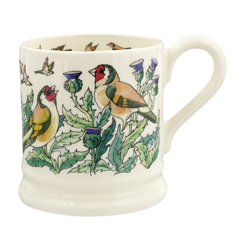 ½ pt Mug Goldfinches