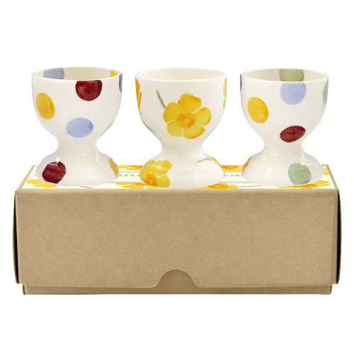 Eggcup set of 3 Buttercup