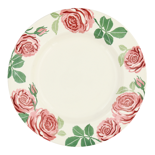 10½ Plate Pink Roses