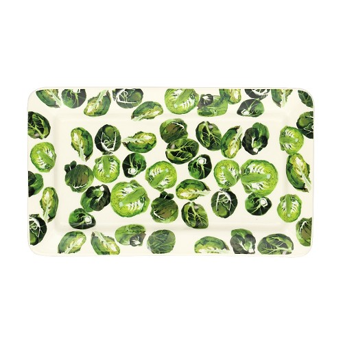 Medium Oblong Plate Sprouts