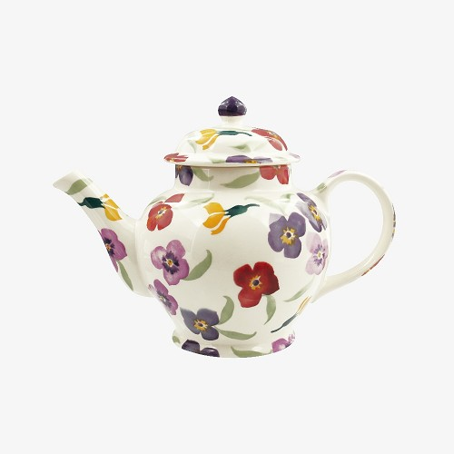 3 mug teapot Wallflower