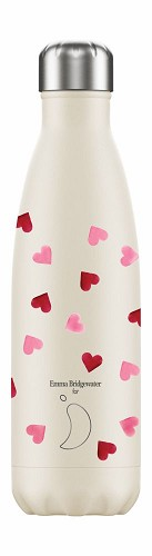 Chilly's Bottle 500ml Pink Hearts