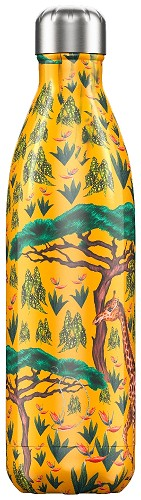 Chilly's Bottle 750ml Tropical Giraffe