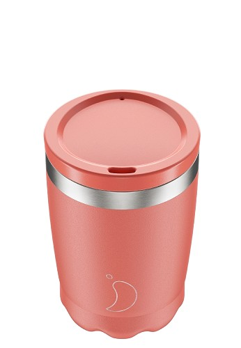 Chilly's Coffee Cup 340ml Pastel Coral