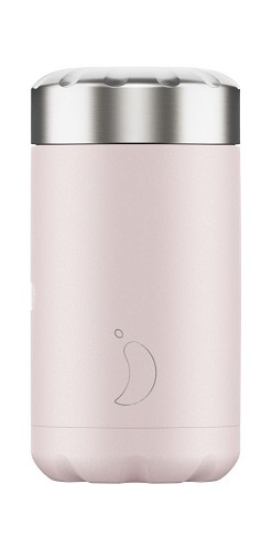 Chilly's Food pot 500ml Blush Pink