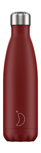 Chilly's Bottle 500ml Red Matte