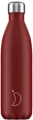 Chilly's Bottle 750ml Red Matte