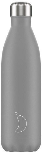 Chilly's Bottle 750ml Grey Matte