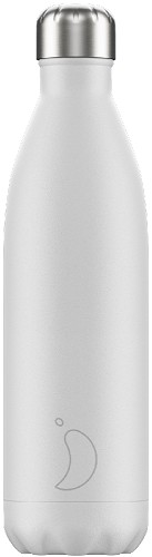 Chilly's Bottle 750ml White Matte