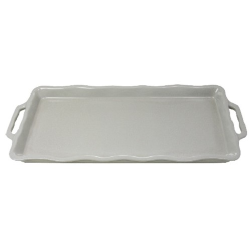 Cake Plate 41 cm Medium Grey
