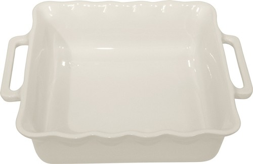 Stackable Square Baking 24½ cm White Off