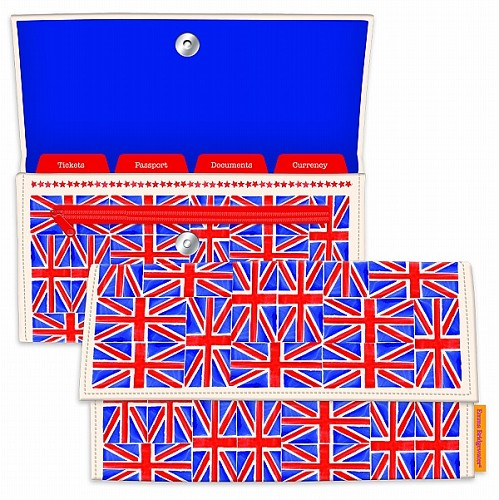 Travel Document Holder Union Jack