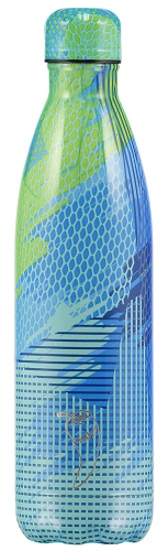Chilly's Bottle 750ml Abstract 5 Green