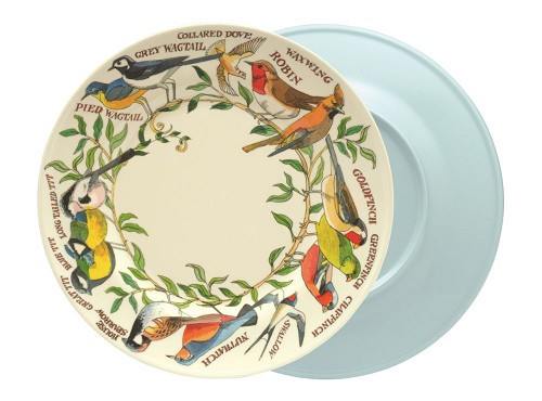 Melamine Dinner Plate Birds