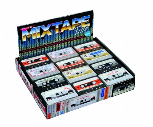 Cassette Display box - 6 assorti