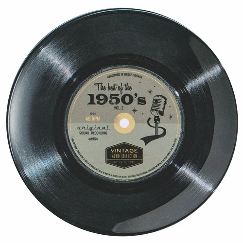 "7"" Record 50's Single - Melamine plate"