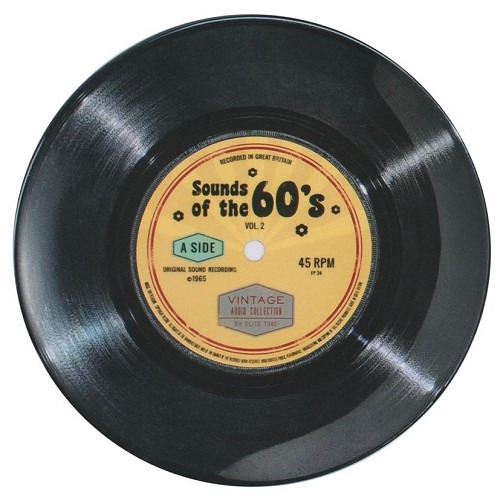 "7"" Record 60's Single - Melamine plate"