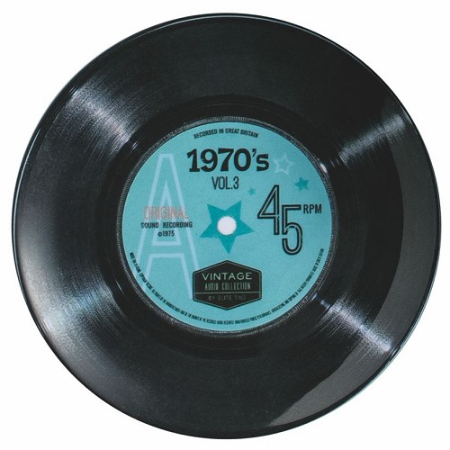 "7"" Record 70's Single - Melamine plate"
