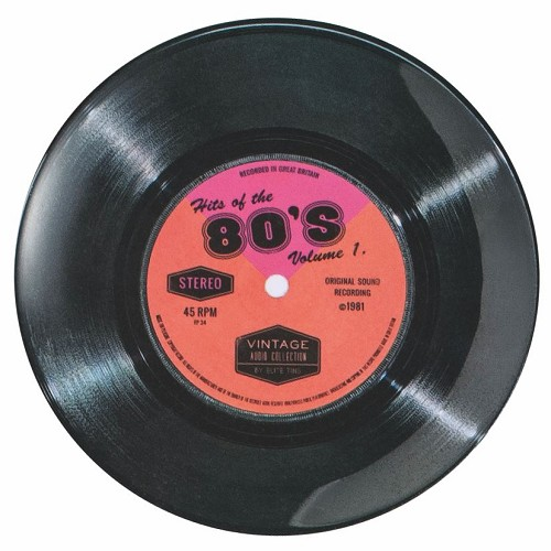 "7"" Record 80's Single - Melamine plate"