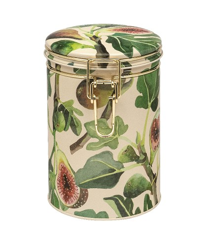 Clip lid Caddy Tin Figs
