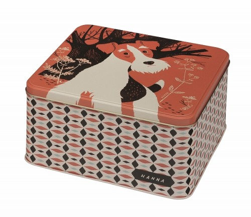 Medium Square Tin Hanna