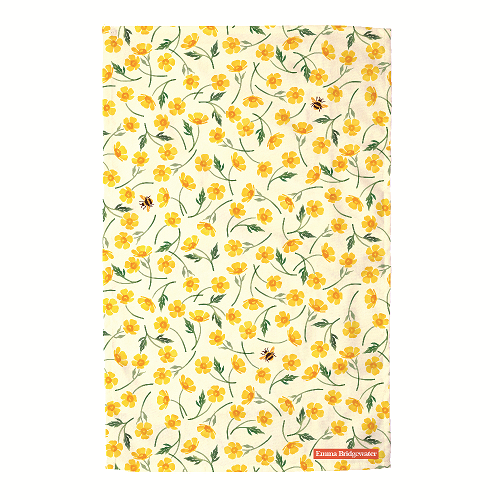 Tea Towel Buttercups