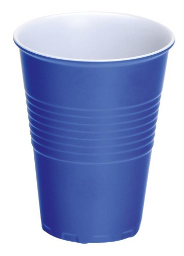 4 X Melamine Cup Blue