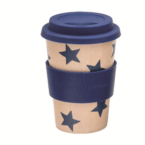 Rice Husk Cup Blue Star