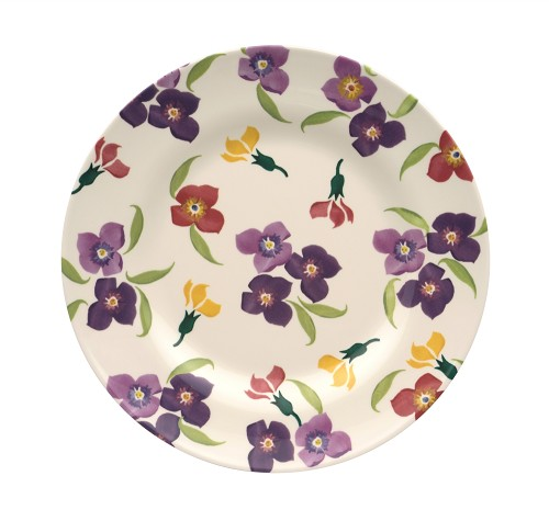 Melamine Dinner Plate Wallflower