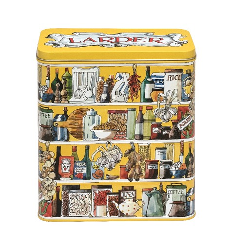 Setting up home Larder Tin