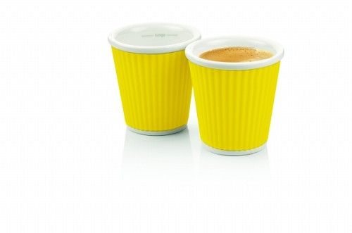 Espresso Cups 10cl Yellow