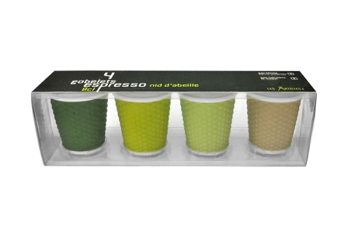 Espresso Cups 10cl set of 4 Green