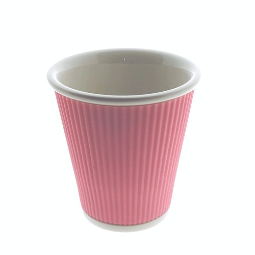 Coffee Cups 18cl Pastel Pink