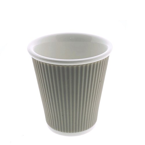 Coffee Cups 18cl Light Grey