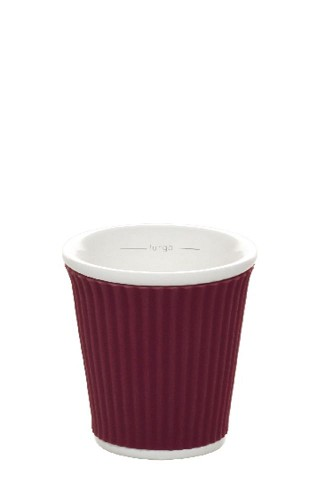 Coffee Cups 10cl Aubergine