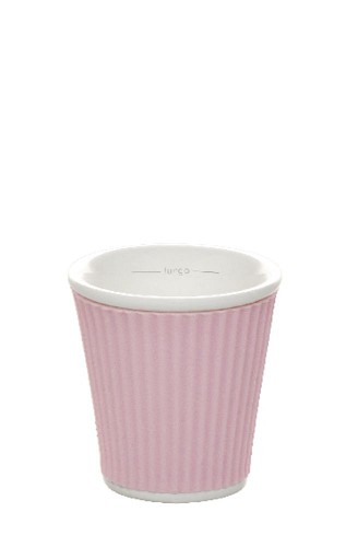 Coffee Cups 8cl Pastel Pink