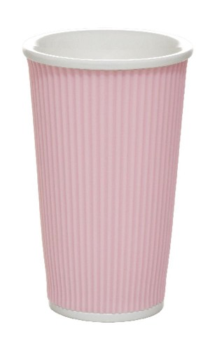 Coffee Cups 45cl Pastel Pink