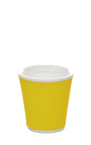 Coffee Cups 10cl Yellow