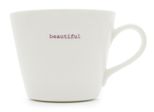 Bucket Mug beautiful