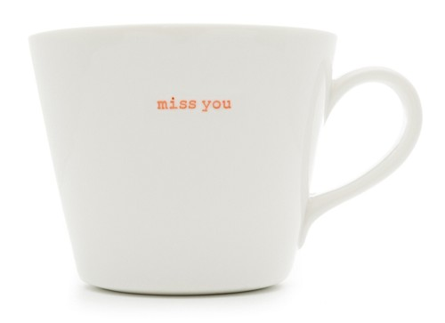 Bucket Mug miss you