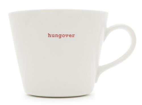 Bucket Mug hungover