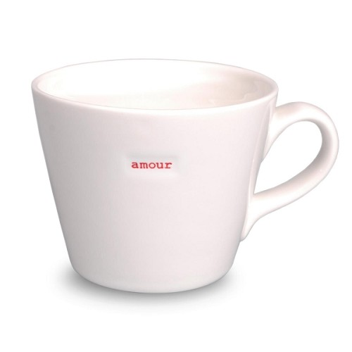 Bucket Mug Amour ( Love ) French