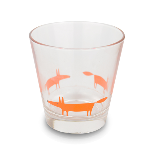Glass tumbler - Mr Fox